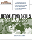 Study on Negotiating Skills for Managers