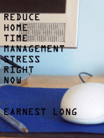 Reduce Home Time Management Stress Right Now