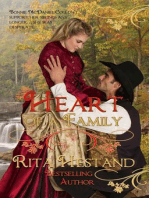 Heart of a Family (Book one of the Brides of the West Series)
