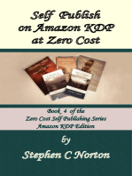 Self Publish on Amazon KDP at Zero Cost