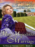 Miss Meredith's Marriage (To Woo an Heiress, Book 4)