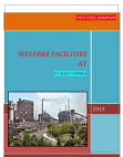 A   PROJECT REPORT ON  WELFARE FACILITIES IN THE ORGANIZATION