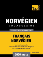 Vocabulaire Français-Norvégien pour l'autoformation. 5000 mots