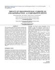 Impact of Organisational Climate on Job Satisfaction