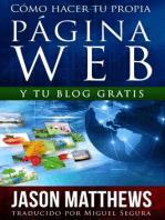 Cómo hacer tu propia página web gratis