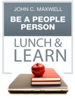 Be a People Person Lunch & Learn