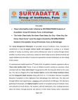 'Clean India Healthy India' initiative by Suryadatta Group of Institute
