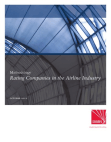 Project Report on Rating Companies in the Airline Industry