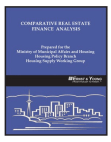 Project Report on Comparative Real Estate - Finance Analysis