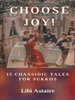 Choose Joy! 15 Chassidic Tales for Sukkos