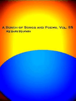 A Bunch of Songs and Poems Vol. 85