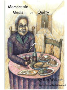 Memorable Meals with Quilty Illustrated by Ohm Pattanachoti
