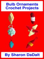 Bulb Ornaments Crochet Projects
