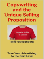 Copywriting and the Unique Selling Proposition