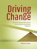 Driving Change: The Story of the South Africa Norway Tertiary Education Development Programme