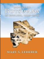 Novels of Botswana in English, 1930-2006