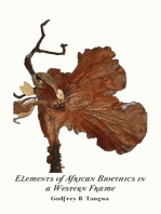 Elements of African Bioethics in a Western Frame