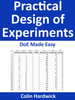 Practical Design of Experiments - DoE Made Easy! (Statistics for Engineers Series)