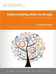 Understanding Bible by Design by G  Brooke Lester by G