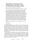 Project on Electronic Document Management