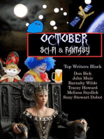 October Sci-fi & Fantasy