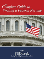 TR: So a federal resume is different. What does it look like?