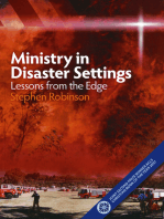 Ministry in Disaster Settings