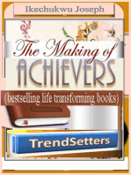 The Making of Achievers (Trendsetters bestselling life transforming books)