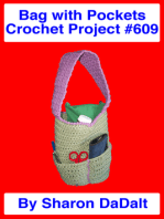 Bag with Pockets Crochet Project #609