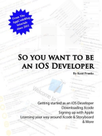So You Want To Be an iOS Developer