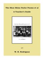 The Shoe Shine Parlor Poems et al A Teacher's Guide