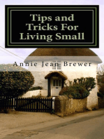 Tips and Tricks for Living Small