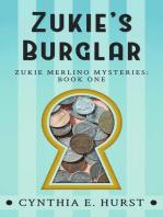 Zukie's Burglar (Zukie Merlino Mysteries, #1)
