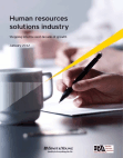 Study on Human resources solutions industry