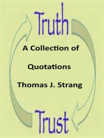 Trust and Truth Quotations