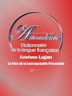 Antiacadémie Dictionnaire