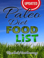 Updated Paleo Diet Food List: Nutrition Series
