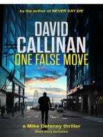 One False Move (a Mike Delaney thriller)