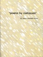 Poems by Metazoan