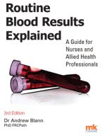 Routine Blood Results Explained 3/e: A guide for Nurses & Allied Health Professionals