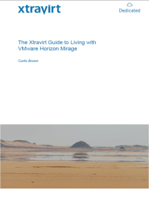The Xtravirt Guide to Living with VMware Horizon Mirage