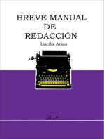 Breve Manual De Redacción