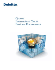 Project on International Tax & Business Environment