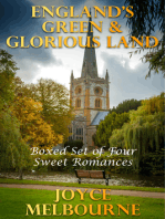 England's Green & Glorious Land (Boxed Set Of Four Sweet Romances)