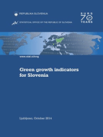 Green Growth Indicators for Slovenia