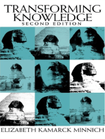 Transforming Knowledge 2Nd Edition