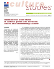 Project Study on International Trade Flows in Cultural Goods and Services