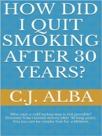 How Did I Quit Smoking After 30 Years?