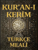 Kur'an Meali (Turkish)