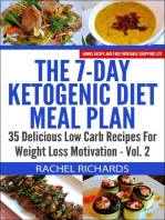 The 7-Day Ketogenic Diet Meal Plan